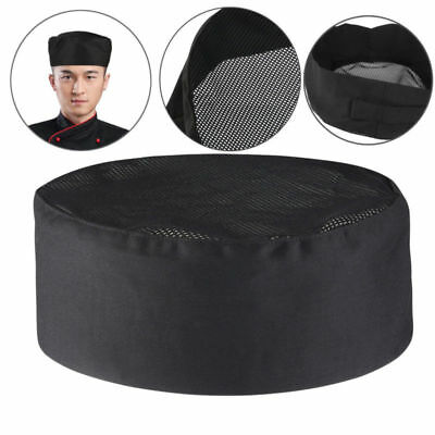 Adjustable Chef Hat Elastic Baker Kitchen Cooking Hat Adult Restaurants Chef Cap