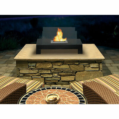 Anywhere Fireplace Gramercy Tabletop Indoor Outdoor Ethanol Bio Fuel Smokeless Ethanol Biofuel Fireplace