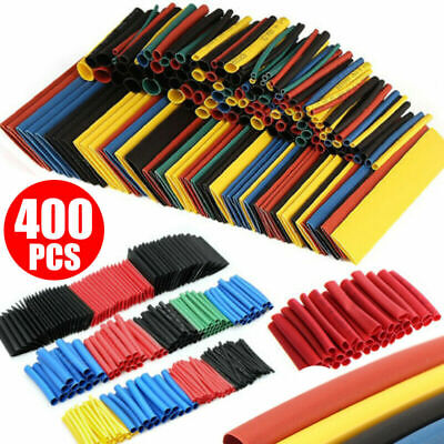 400pcs 21 Heat Shrink Tubing Insulation Shrinkable Tube Wire Cable Sleeve Kits