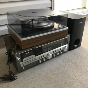 Fisher stereo and record player,great condition