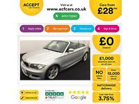 BMW 118 2.0 2008MY i M Sport FROM £28 PER WEEK!