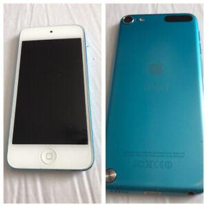 Blue iPod