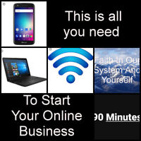 BE YOUR OWN BOSS, WITH NO PREVIOUS EXPERIENCE!!!