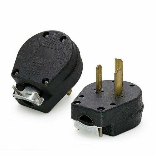 MALE 6-30P 6-50P Welder Dryer Power Plug 50 AMP 220v 208 220 250 Volt Welding