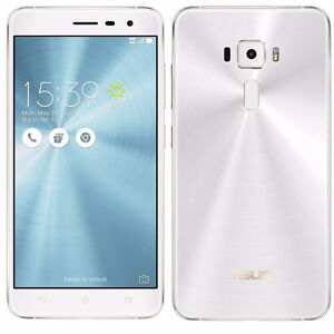 Factory Unlocked ASUS Zenfone 3 Silver 64GB Dual Sim New 4GB RAM