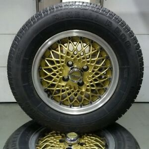 Cheviot Wheels in excellent condition with tires for Fiat Spider