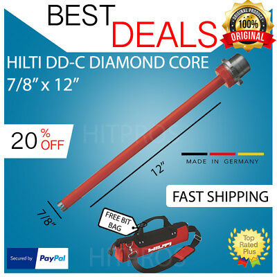 Hilti Diamond Core Bit Dd-c 78 X 12 T4 Brand New Fast Shipping
