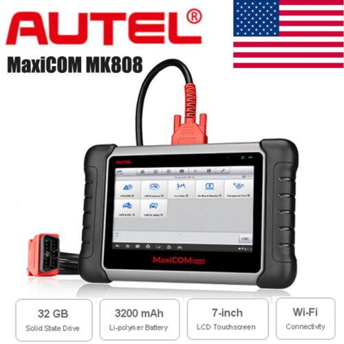 Autel MaxiCOM MK808 MaxiAP AP200 OBD2 Scanner Auto Full Systems Diagnostic Tool