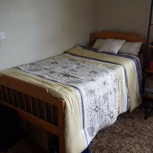 Single Bed (Frame, box-spring, mattress included)