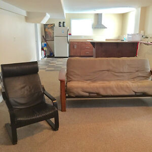 Newer Furnished Daylight Bachelor Suite in Southridge
