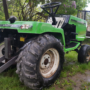 Lawnboy gt18h pull tractor