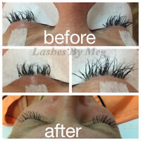 Get your lashes extended for only $70! Limited Time!