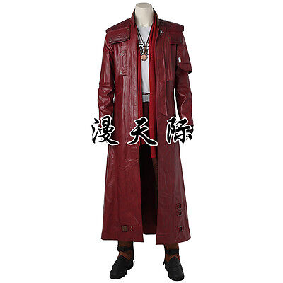 Guardians of the Galaxy 2 Peter Jason Quill Star-Lord Cosplay Kostüm Costume neu ()