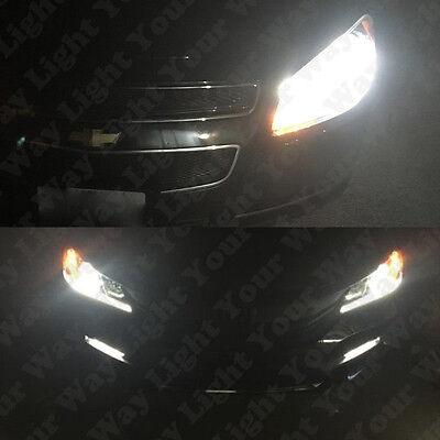 High Power 6000k White H8 H9 H11 LED Headlight Lights Bulbs Conversion Kit