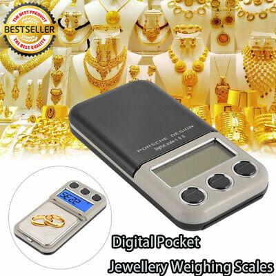 Feinwaage Mini Digitalwaage Goldwaage Taschenwaage Präzisionswaage 600g/0.1g