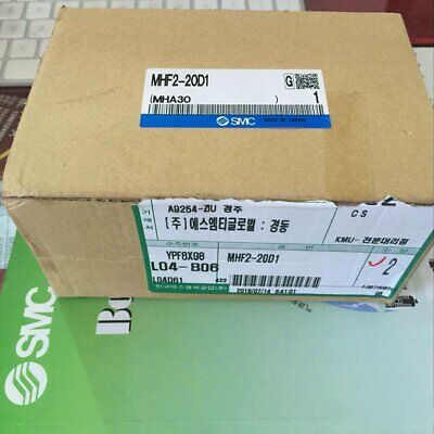 1pc New Smc Mhf2-20d1 Pneumatic Slide Cylinder In Box Spot Stock