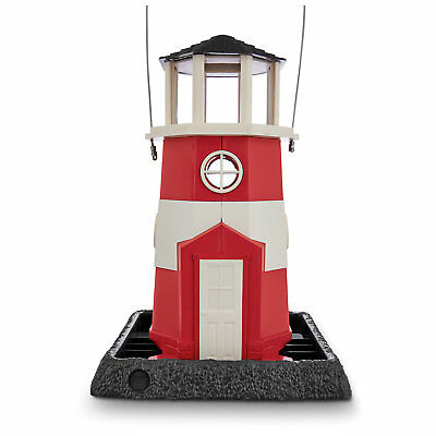"North States Shoreline Lighthouse Bird Feeder, 10"" L X 9"" W X 15"" H"