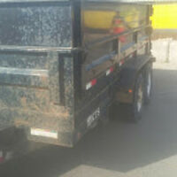Site cleanup - Deliveries to site - Junk Removal
