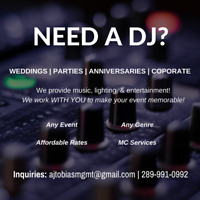 DJ for WEDDINGS, PARTIES, EVENTS