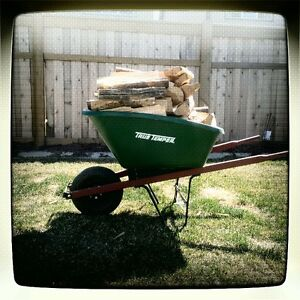 Firewood - $10.00 a Wheelbarrow!