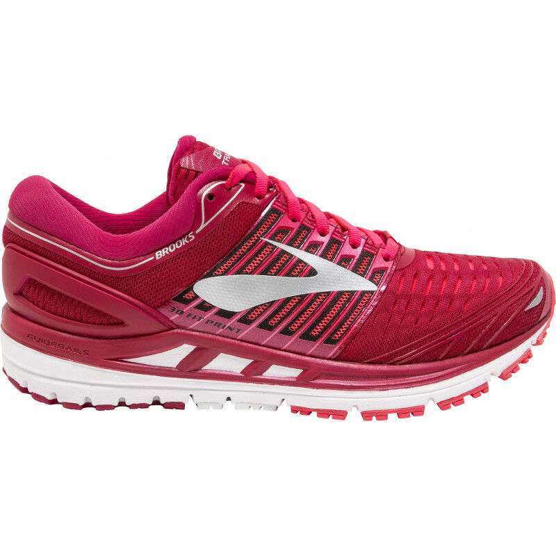 free shipping 68951 f8c52 Details about Womens Brooks Transcend 5 Womens Running Shoes - Pink