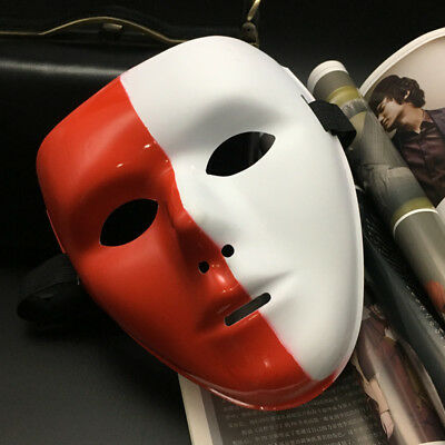 1pc Jabbawockeez Hip-hop Face Mask for Halloween Cosplay Costume Party Dance  - Costumes For Hip Hop