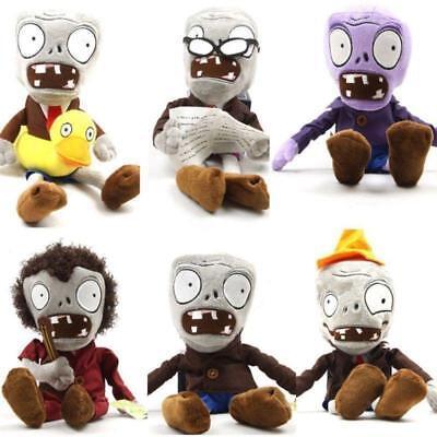Plush Toys Doll Zombies Hot 6 Set Christmas Zombie of Sale Gift 25cm Plants VS (Zombie Sale)