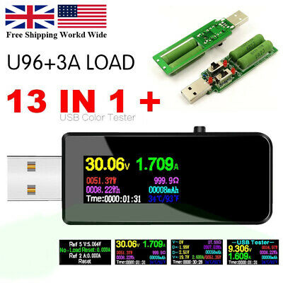 Usb Power Tester Voltage Current Capacity Meter Dc Digital Test Chargers Cables