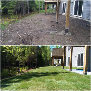 landscaping / lawn mowing / spring clean up