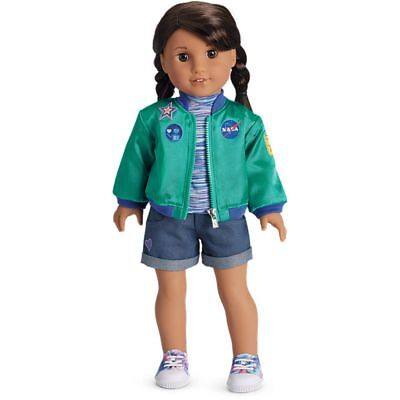 Authentic American Girl Luciana Vega Goty 2018 Stellar Nasa Outfit Jacket Shoes