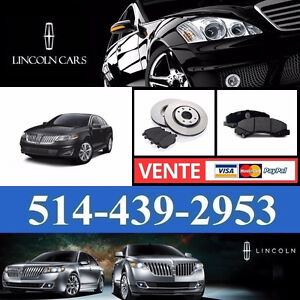 Lincoln MKS ■ Brakes and Rotors ► Freins et Disques