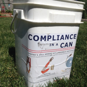 Compliance in a Can - Fall Arrest Roofer Safety Equipment
