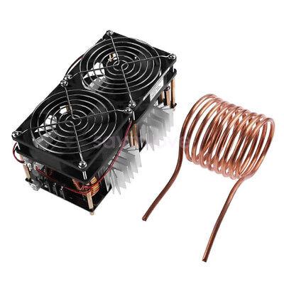 1800w Zvs Tesla Induction Heating Board Module Flyback Driver Heater W Fan Coil