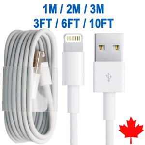3/6/10FT NEW Lightning USB Charger Cable 4 Apple iPhone6/7/8/X