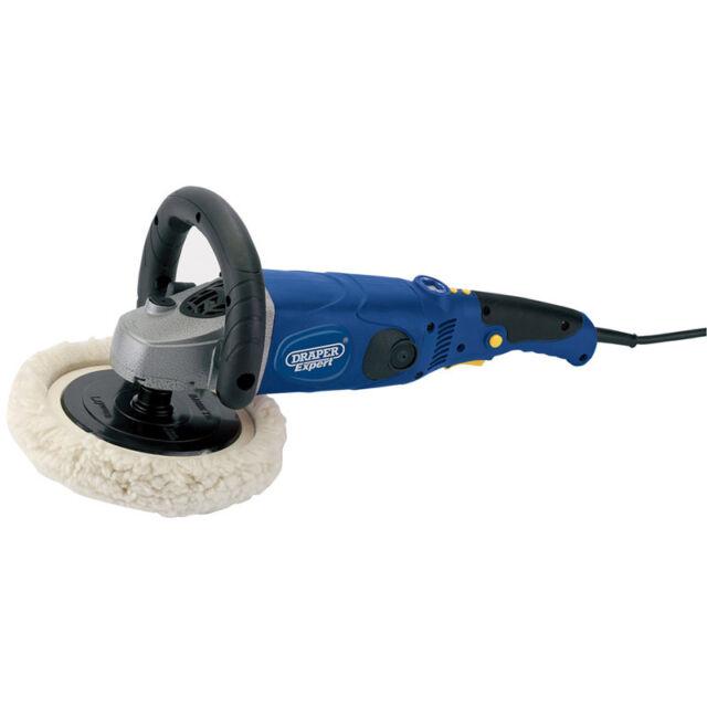 Draper Expert® 180mm Stepped Speed Angle Polisher (1500W) 230 Volt