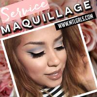 Maquillage et coiffure à Montréal - makeup services in montreal