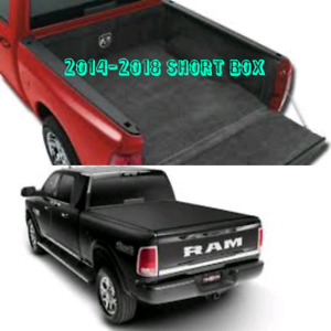 Truxedo Pro X15 Tonneau and Mopar Bed Rug Dodge Ram