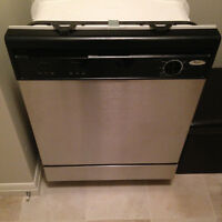 Whirlpool Stainless Steel Dishwasher - only used a couple weeks