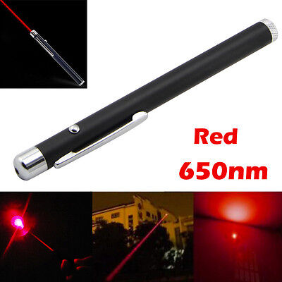 Red Light Laser Pen Pointer Lazer Outdoor Camp Survival Lecture Tool Cat Dog Toy