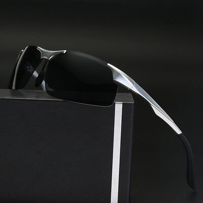 Aluminum Mens Polarized Sunglasses Outdoor Sport Goggles UV400 Traveling (Sports Goggles Uk)
