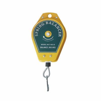 Durable Retractable Spring Balancer Tool Fixtures Holder Ergonomic Hanging 3-5kg