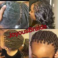 Joyous custom Braids