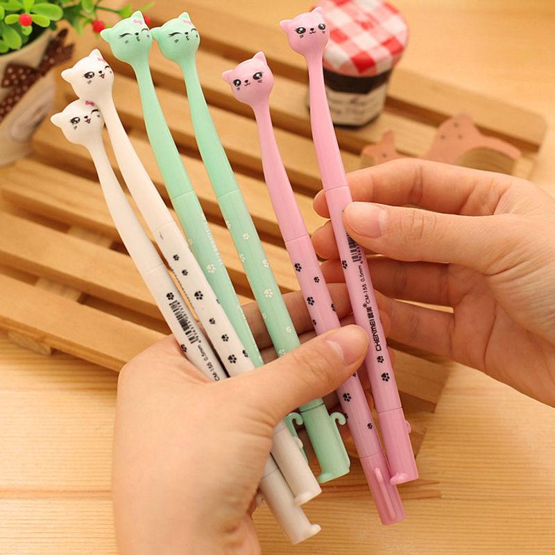 Cat Gel Pens