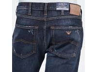 ARMANI J45 JEANS HALF PRICE BARGAIN AT £70 ALL SIZES AND COL VARIATIONS NEW WITHOUT TAGS