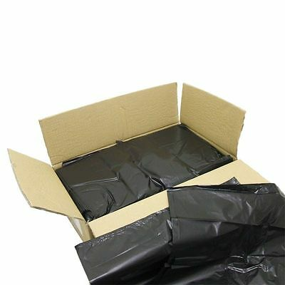 Black Refuse Sack Boxed 200 Size 18X29X34  - Cleaning Direct - BRS020