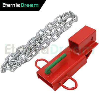 2insert Clamp On Forklift Hitch Receiver For Pallet Fork Trailer Towing Adapter
