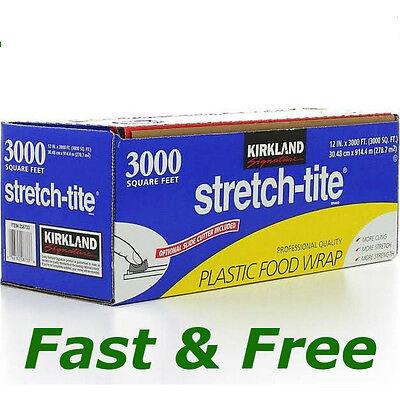 "Kirkland Signature Stretch-Tite 12"" X 3000"