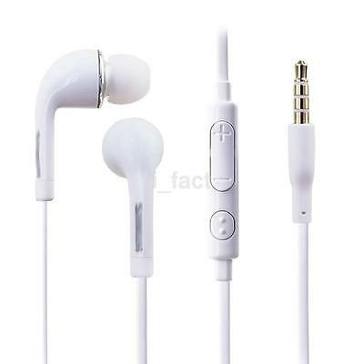 New Earphone 3.5mm Handsfree & Volume Control for Samsung Galaxy S6 i9500 S7 CA