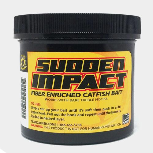 Team Catfish-Sudden Impact~Fiber Enriched Catfish Bait~FREE Shipping