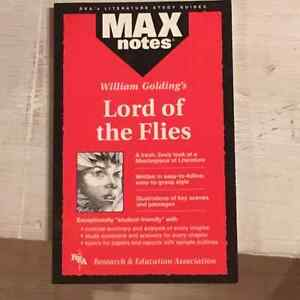 Max notes lord of the flies